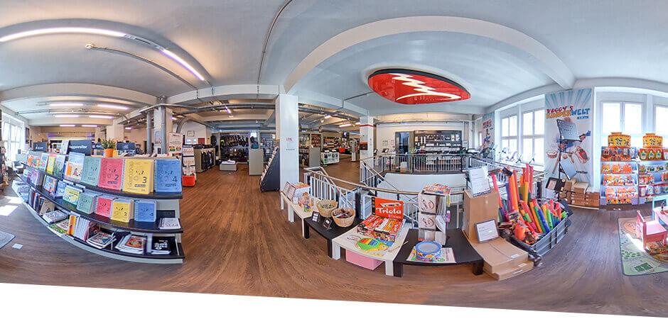 JustMusic Berlin FlagShipStore - Abteilung Books, Brass und Strings