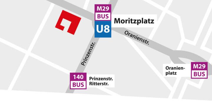JustMusic Berlin FlagShipStore - Anfahrt