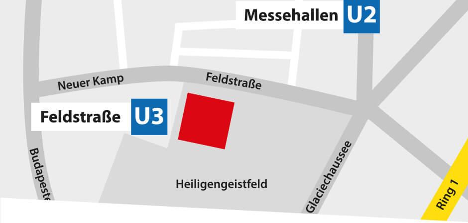 JustMusic Hamburg - Anfahrt