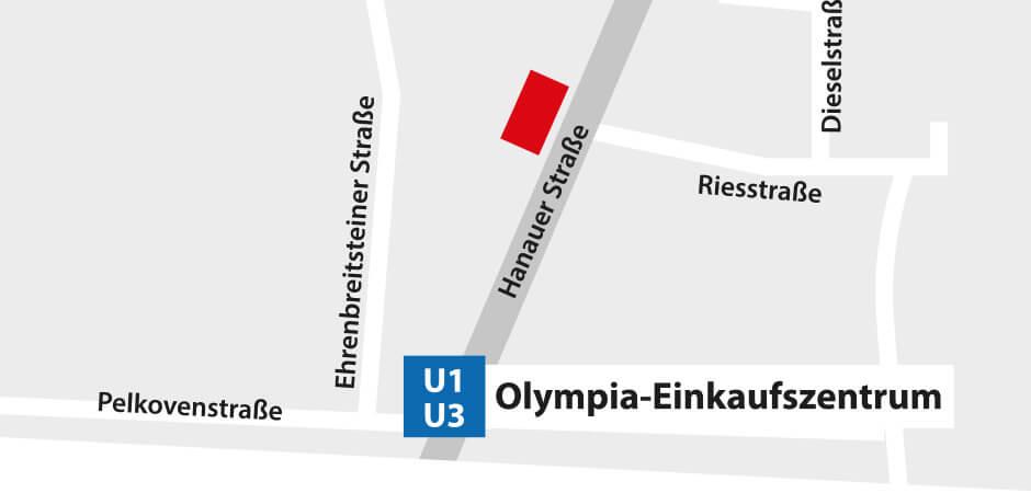 JustMusic München - Anfahrt