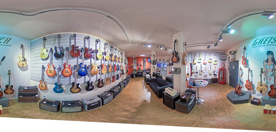 JustMusic München - Abteilung Gitarre & Bass