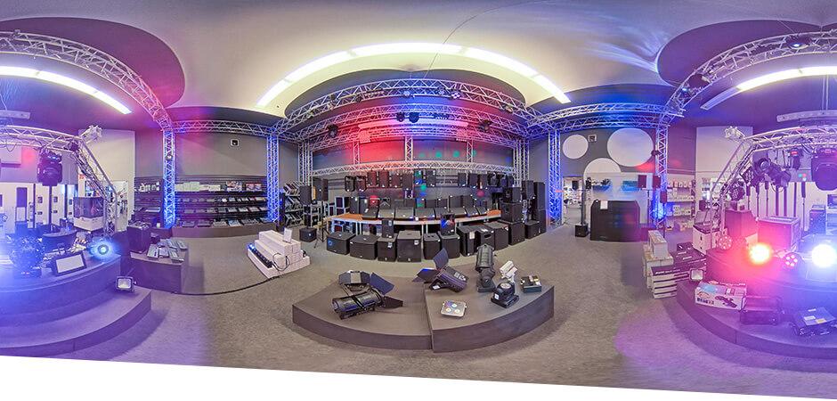 JustMusic München - Abteilung PA, Licht & DJ